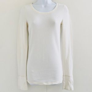 Abercrombie & Fitch • Thermal Long Sleeve Top